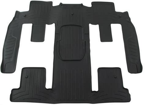 weathertech    row rear auto floor mat black