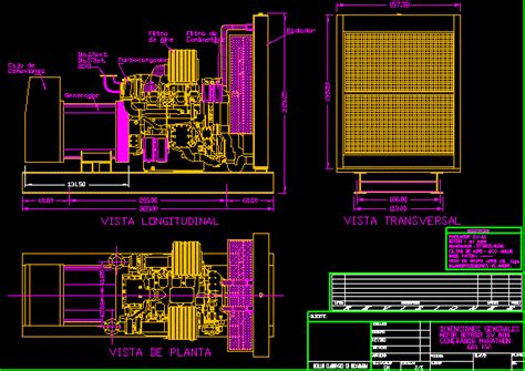 electrical generator dwg detail for autocad designs cad