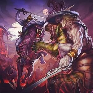 He-Man vs Skeletor   Masters of the Universe   Pinterest