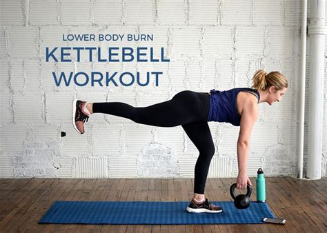 kettlebell workout body lower burn upper moves serious few always gets