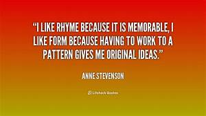 Famous Rhyming ... Memorable Occasions Quotes