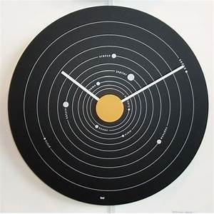 Solar System Wall Clock (page 2) - Pics about space