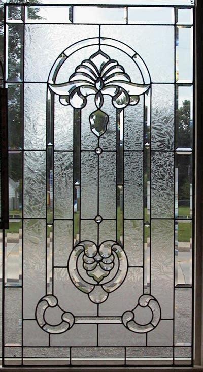 beveled glass panels doors  glass panel bevel glass