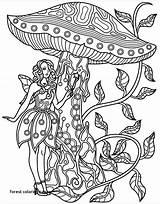 Coloring Forest Kelp Getcolorings Zentangles Printable sketch template