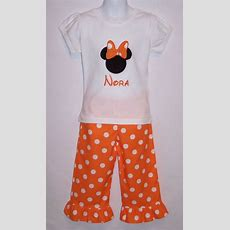 Custom Boutique Clothing Girls Disney Minnie By Sewsweetsmocking, $3900  Disney Love