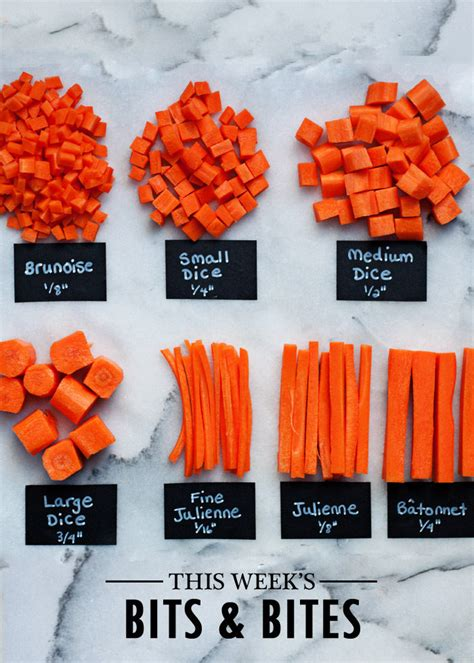 bites bits cuts knife basic kitchen week