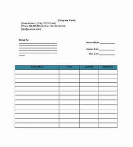 Download invoice template google docs for Google documents invoice template