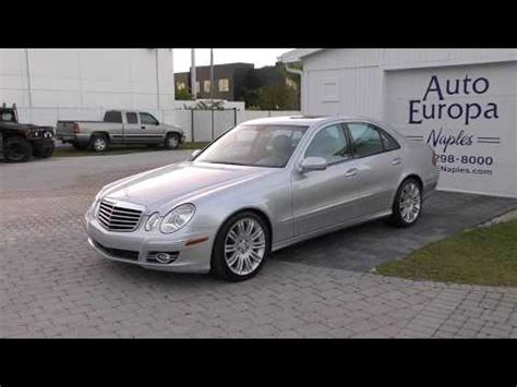 However, this only happens in the sport driving mode, not in the comfort driving mode. 2007 Mercedes-Benz E-Class | Read Owner and Expert Reviews, Prices, Specs