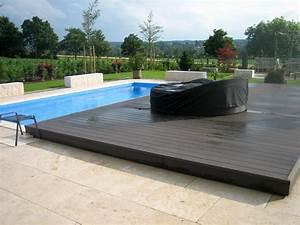 Pool Mit Holzterrasse : pooldecks das fahrbare pooldeck als poolabdeckung f r ihre pool ~ Whattoseeinmadrid.com Haus und Dekorationen