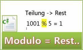 Rest Berechnen : mit c modulo rest einer teilung berechnen codedocu de net framework ~ Themetempest.com Abrechnung