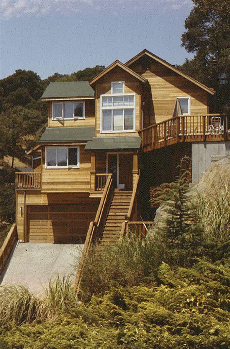 steep slope house plans house plans steep slope