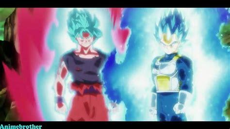 db super episode  english dub limit break vegeta goku