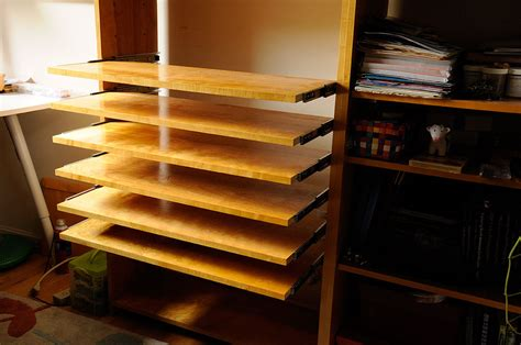 Shelves That Slide by Slide Out Shelves Diy Rainydaymagazine