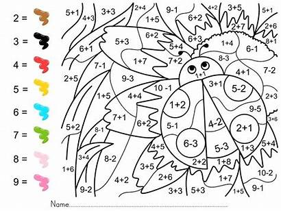 Math Coloring Number Pages Printable