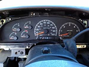 1997 Ford F150 Instrument Cluster Exploded View