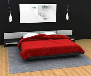 Black and red bedroom design ideas bedroom ideas pictures for Black and red bedroom ideas