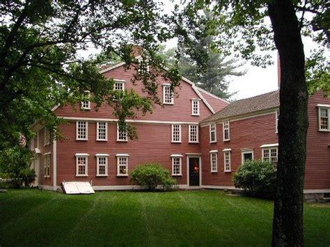 Longfellow's Wayside Inn, Sudbury MA located along the old ...