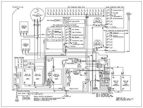 marine electrical wiring diagram wiring diagram with software to document boat wiring the hull truth