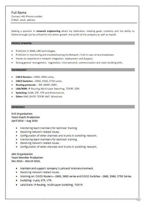ccna resume samples top  ccna resume templates