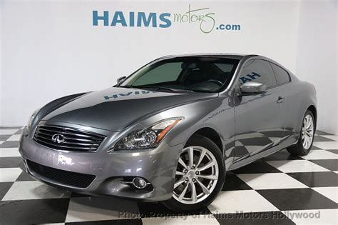 infiniti  coupe awd  haims motors serving