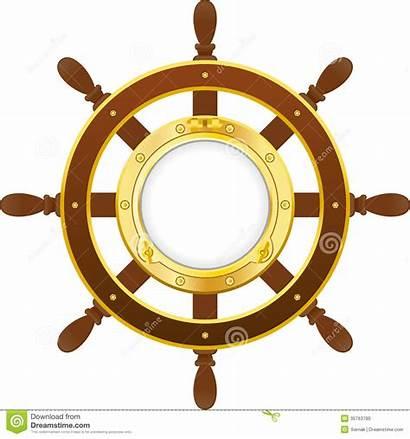 Porthole Ship Clipart Wheel Port Hole Vector