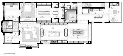 house and floor plans gallery of middle park house kpdo 35