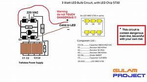 Cara Buat Lampu 3 Watt  Led Bulb   U2022 Jual Lampu Led Harga