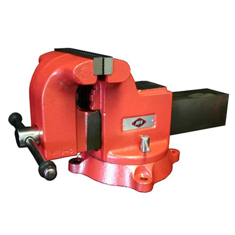 general duty swivel bench vise american forge
