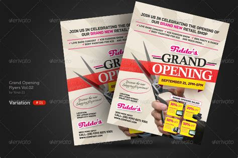 16+ Grand Opening Flyer Templates