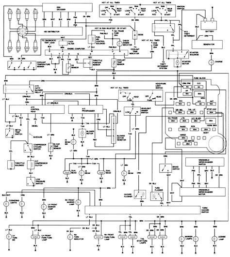 Cadillac Wiring Diagrams The Old Car Manual