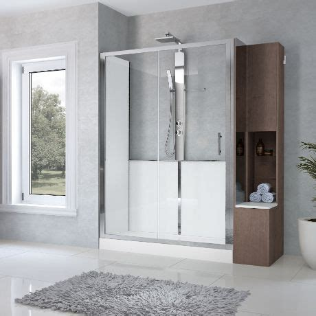 Convertire Vasca In Doccia by Easy And Fast Bathtub To Shower Conversion For A Bathroom