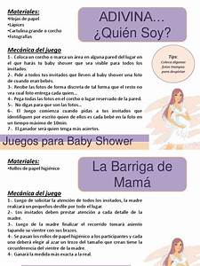 juegos para baby shower pptx