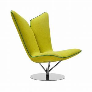 Angel fauteuil salon pivotant design softline for Fauteuil salon design pivotant
