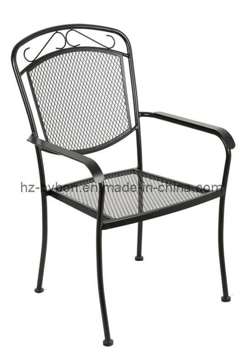 china steel mesh stackable garden chair c 049 china