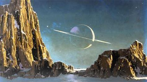 worlds  chesley bonestell exhibit  space paintings