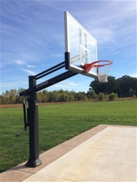 pro dunk platinum basketball system  yorkville