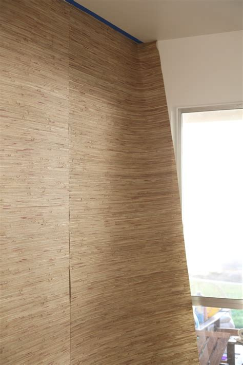 hanging grasscloth wallpaper    suburban pop