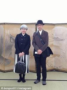 Japanese couple wear matching outfits EVERY day | Daily Mail Online