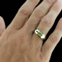 mens cheap wedding bands men wedding ring finger with 18k gold plated