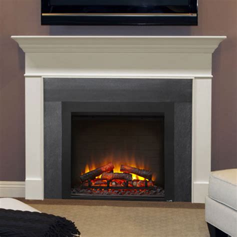 electric fireplace inserts amantii electric insert home