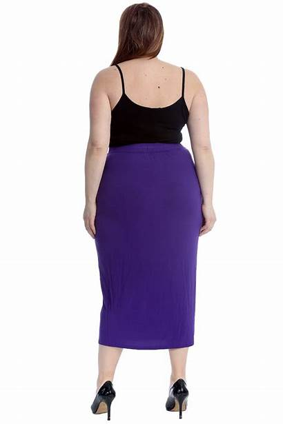 Pencil Skirt Skirts Office Ladies Bodycon Stretch