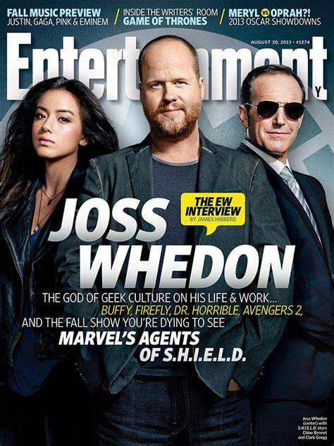 joss whedon marvels agents  shield cover