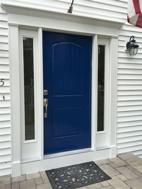 love my new door and new color benjamin moore grand