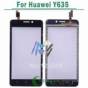 Black White For Huawei Ascend Y635 Y635 L21 Touch Screen