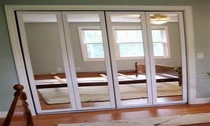 Bedroom closet door mirrors, stanley mirrored sliding
