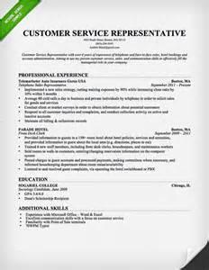 customer service resume professional resume exle
