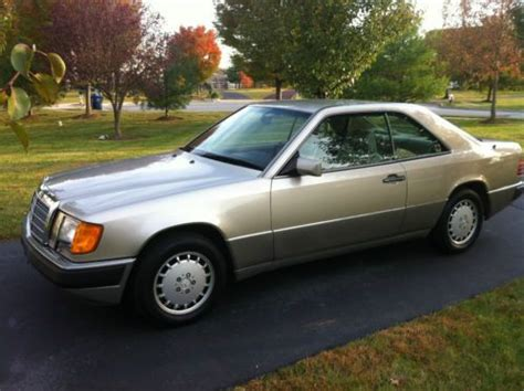 New tires on borbet wheels, brakes, batteryand complete tune up. Purchase used 1991 Mercedes Benz 300CE - Rare Coupe - Beautiful Car! in Royersford, Pennsylvania ...