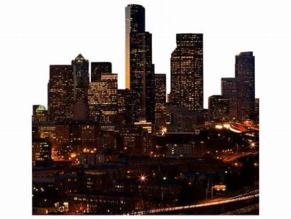 Skyline Seattle Psd Places Graphic Vectorhq Browse
