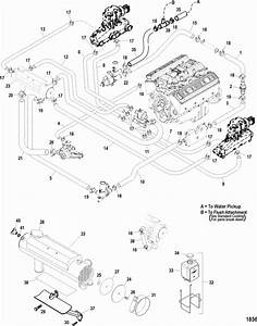 Mercruiser 350 Mag Mpi Mie Closed Cooling System Parts