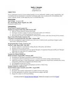 resume format for social services bad resume writing exles